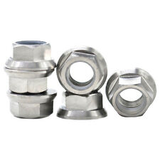 M10X1.25 Motorcycle Titanium Ti Sprocket Flange Lock Nut Screw For Suzuki Yamah