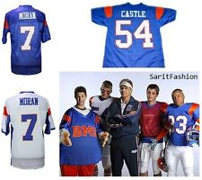 Blue Mountain State American Football Jersey Stitched Alex Moran Kevin Castle