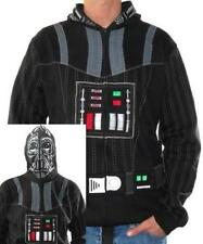 NEW Officially Licensed Star Wars Darth Vader Masked Mens Costume Hoodie
