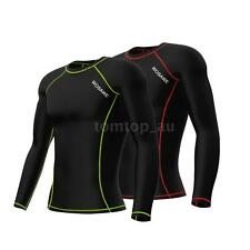 Winter New Hot Thermal Fleece Long Sleeve Mens Team Cycling Jersey W2V4