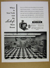 1959 Linhof Camera Showroom Store New York City photo vintage print Ad