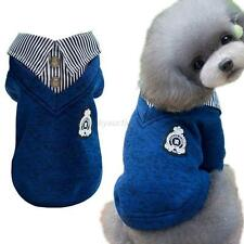 Pet Dog Hoodie Puppy Cat Warm Clothes Sweater Costume Hooded Jacket Coat Apparel