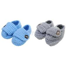 Warm Newborn Baby Kids Toddler Girls Boys Button Crib Shoes Prewalker Soft Sole