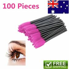 50/100x Disposable Eyelash Brush Mascara Wands Extension Applicator Spoolers AU