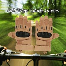 Hard Knuckle Tactical Gloves Full Finger Sport Shooting Hunting Riding Hot L1W5