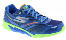 Boys Lace Up Trainers Skechers 95695 Blue UK Size 10.5 - 3 (EU Size 28 - 36)