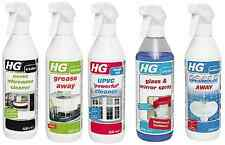 HG Grease Away Scale Away Microwave Cleaner UPVC Cleaner Glass & Mirror Spray