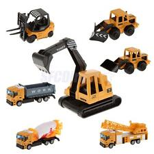 1:64 Scale Diecast Construction Truck Car Vehicle Model Kids Toy Birthday Gift