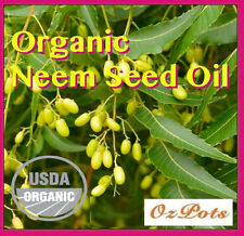Organic Neem Oil Seed Oil 100% Natural Bio-Pesticide for Garden Insect Control