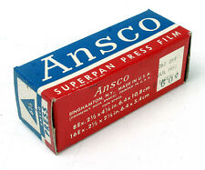 ANSCO 616 SUPERPAN PRESS, EXPIRED JULY 1953/170576
