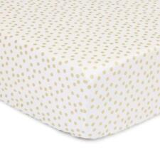 The Peanut Shell Confetti Fitted Bassinet Sheet