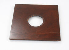 LENS BOARD, FOUR INCHES SQUARE, 3-9/16 INCH INNER STEP, 33MM HOLE/182114