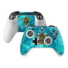 NEW Vinyl Skin for Xbox One Controller S Elite Blue Honu Turtle Sticker Decal