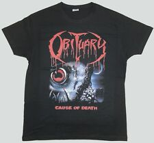 OBITUARY T-SHIRT CAUSE OF DEATH