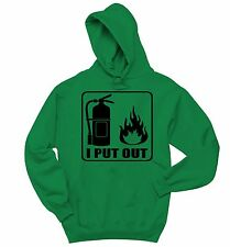 I Put Out Funny Sweatshirt Fireman Firefighter Holiday Gift Hoodie