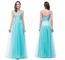 Formal Tulle Ball Gown Party Cocktail Prom Bridesmaid Evening Dress