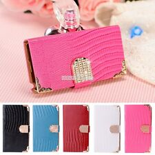 Luxury Bling Leather Wallet Magnetic Flip Cover Case For Samsung Note3/N9000 S0B