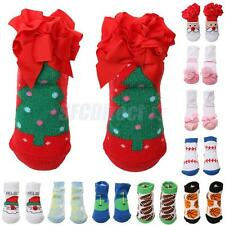 Christmas Boy or Girl Santa Socks Cute Soft Cotton Toddler Newborn Baby Socks