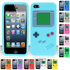 For Apple iPhone 5/5S/SE Gameboy Silicone Case Cover