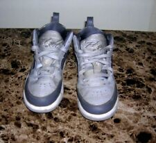 Boys Nike Jordan Flight Gray White Basketball Tennis Athletic Shoes Size 13C