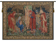 Adoration of the Magi 1 Belgian Tapestry Woven Wall Hanging Home Decor Fine Art