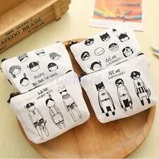 Girls Kawaii Gift Cartoon Canvas Mini Bag Wallet Coin Purse New