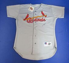 JD Drew Signed Auto Autograph Russell Athletic Cardinals Away Jersey JSA Q88284