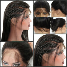 100% Hand Made Wig Glueless Full Lace Human Hair Wig Lace Front Wigs Baby Hair