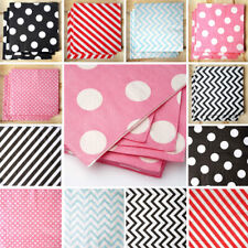 """13"""" Paper NAPKINS Wedding Party Kitchen Catering Table Top Decorations Wholesale"""