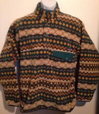 NWT Mens Patagonia Synchilla Snap T Pullover Electron Blue