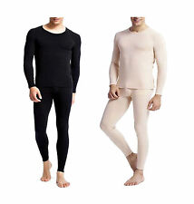 Mens 100% Preshrunk Cotton Thermal Waffle Underwear Top and Bottom Set M to 6XL