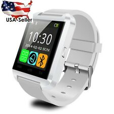 U8s Smart Watch Bluetooth White For iPhone Android Samsung HTC LG