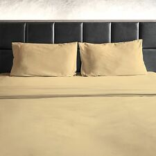 Premium Sheet Set 1800 Count 4 Piece Brushed Bamboo Feel Deep Pocket Sheets