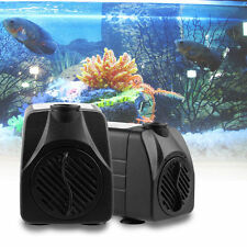 800/600/350L/H Submersible Pump Aquarium Fish Tank Fountain Water Hydroponic NEW