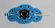 Native American Southwest Beaded Design Hair Barrette Piece