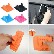 Silicone Anti Slip Car Dashboard Mat Sticky Pad Stand Holder For Cell Phone GPS