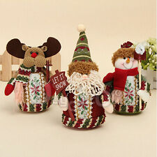 Christmas Gift Doll Decoration Santa Claus Snowman Hanging Tree Ornament