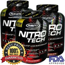 MuscleTech Nitro Tech Performance Series Best Whey Protein Isolate Pick A Flavor