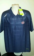 Montreal Canadiens Reebok Center Ice Embroidered PlayDry Polo Golf Shirt