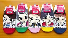 SHINEE socks One Pair (VER 2) - option Choose (ONEW MINHO KEY JONGHYUN TAEMIN)