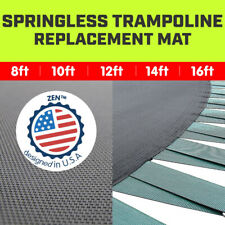 New Springless Trampoline Replacement Mat Round Outdoor 8ft 10ft 12ft 14ft 16ft