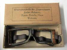 WW1 German Flying Goggles Vintage aviator driving & motorcycle Richthofen WWI