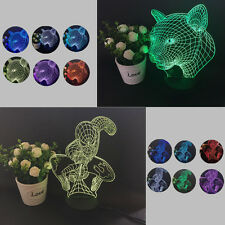 Colorful Changing LED Night Light Lamp Home Room Party Desk Decor Visual Lamp GZ