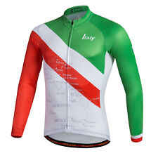 Long Sleeve Cycling Jerseys For Men New Fashion Biking Jacket Bike Sports Shirts