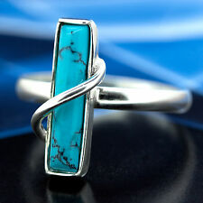 Turquoise Silver 925 Ring different sizes R085