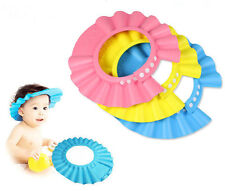 TOP Soft Baby Bath Kids Hat Wash Hair Shield Children Shampoo Bathing Shower Cap