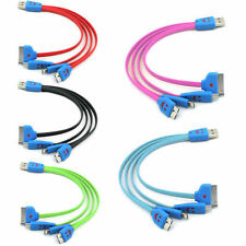 4 in 1 Micro USB/30 8 Pin charging charge cable for iPhone iPad iPod Galaxy HTC