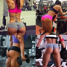 Women Sports Shorts Trousers Athletic Gym Workout Fitness Training Yoga Pants