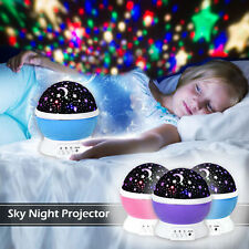 Amazing LED Starry Night Sky Romantic Projector Lamp Cosmos Star Master light