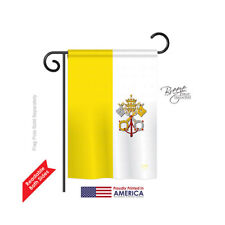 Two Group Flag Co Vatican City 2-Sided Vertical Flag